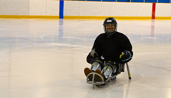 """Hood Rush"" Sledge Hockey Program"