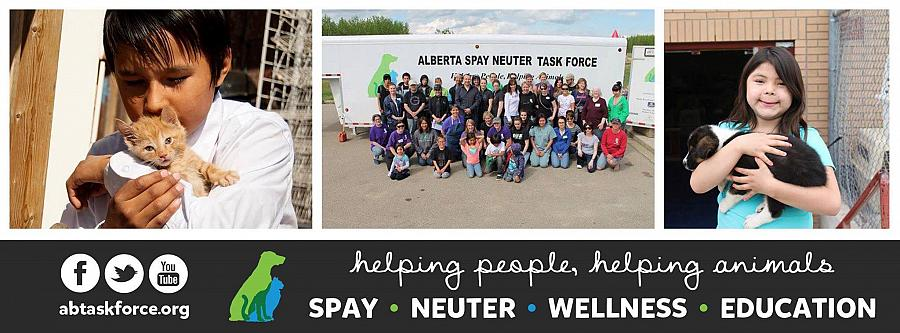 Alberta Spay Neuter Task Force Education Program