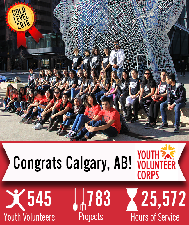 Volunteer Airdrie Youth Volunteer Corps