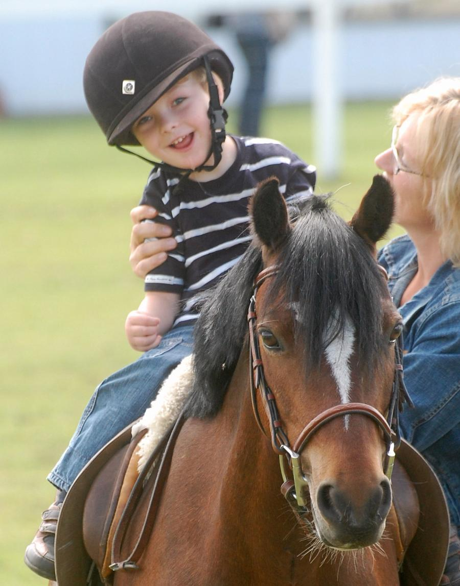 Therapy for special needs kids thru horses
