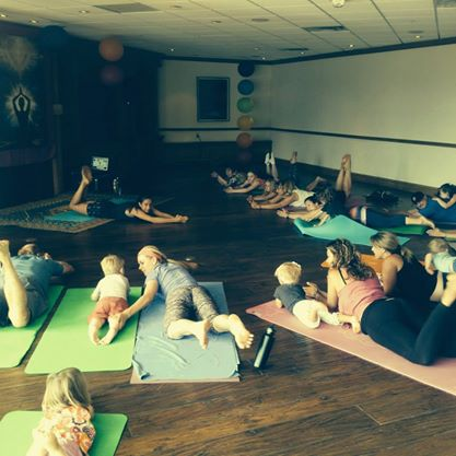 Little Hippies Yoga for the Boys and Girls Club of Calgary