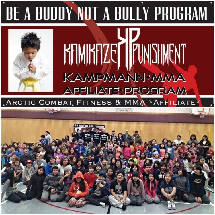 Be a BUDDY not a BULLY martial arts youth empowerment campaign Yellowknife