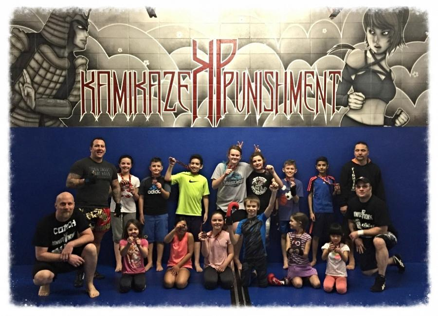 Be a Buddy not a Bully Progam Martial Arts Program at Kamikaze Punishment Foundation